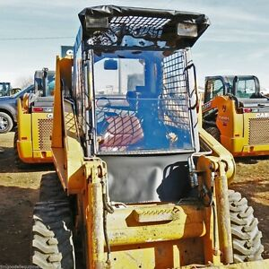 Case Skid Steer Vinyl Cab Enclosure fits1845c Only Stay Warm Dry This Winter