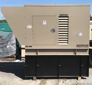 40 Kw 50 Kw Diesel Generator John Deere 4039d Single Or Three Phase Magnetek