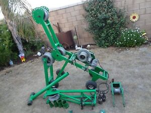 Greenlee 6001 Super Tugger Cable Wire Puller Setup W Condux Cable Glider S Ca
