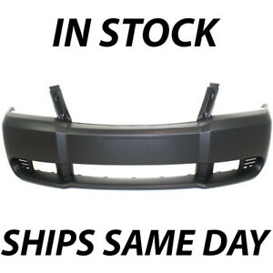 New Primered Front Bumper Cover Replacement Fascia For 2008 2010 Dodge Avenger