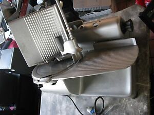 Hobart 1712 Automatic Deli Meat Slicer Auto Or Manual