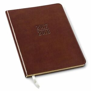 2018 Gallery Leather Professional Weekly Planner Acadia Tan 9 x7