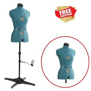 Sewing Dress Form Female Mannequin Torso Professional Adjustable Medium Display