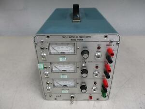 Power Designs Tp340a Triple Outpost Dc Power Supply T124877