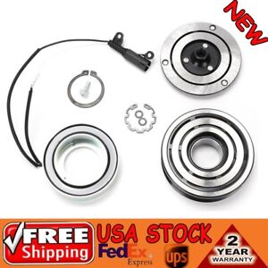 A C Ac Compressor Clutch W Pulley Bearing Coil Plate Fit Mini Cooper 02 08 1 6l