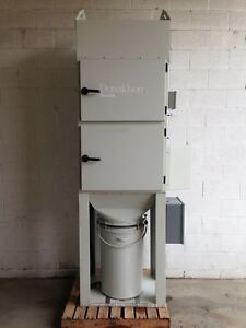 Donaldson Torit Dust Collector Unimaster Automatic Shaker Bar 2hp Single phase