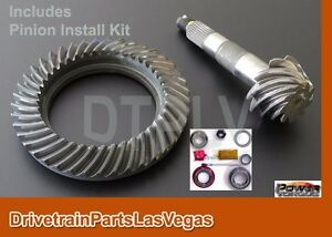 Dtplv Gear Dana 30 Tj Jeep Front End 4 10 Ring And Pinion Gear Set Install Kit