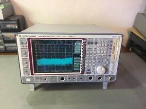 Rohde Schwarz Fseb20 Spectrum Analyzer 9 Khz 7 Ghz Calibrated