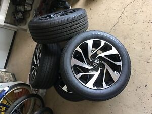2018 Honda Civic Coupe Rims And Tires 16