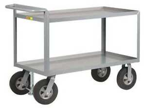 Utility Cart steel 54 Lx24 W 1500 Lb Little Giant Gl244810srfl