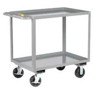 Little Giant 2gl24486phbk 12 Ga Steel Utility Cart 3600 Lb Capacity 53 1 2 l