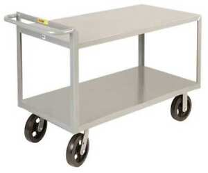 Utility Cart steel 53 Lx24 W 2400 Lb Little Giant G24488mr
