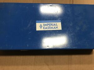 Imperial Eastman 121 fa Tube Cutting Flaring Bending Tool Kit In Metal Box Usa
