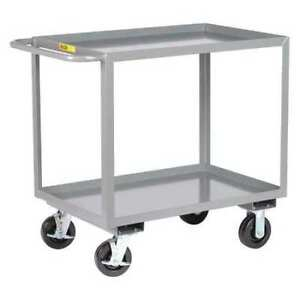 Little Giant 2gl30486phbk 12 Ga Steel Utility Cart 3600 Lb Capacity 53 1 2 l