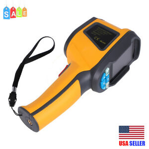 Ht 02d Handheld Ir Thermal Imaging Camera Display Infrared Thermometer Imager Us