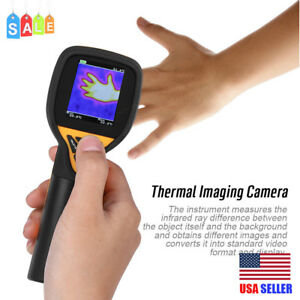 Infrared Thermal Imager Camera Handheld Temperature Instrument Car Hunting 32x32