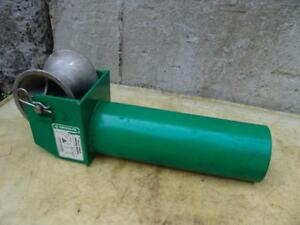 Greenlee 441 5 Cable Tugger Puller Feeding Sheave 2 Mint Condition