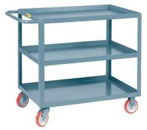 Little Giant 3lgl3048brk 12 Ga Steel Utility Cart 1200 Lb Capacity 53 1 2 l