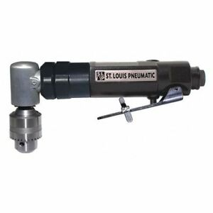 Low Speed 1 4 Angle Drill St Louis Pneumatic Slp 84026