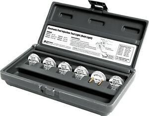 Wilmar W89500 Electronic Fuel Injection Test Light Set Noid Light 6 Pieces