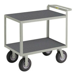 Little Giant G24369pm Steel Vinyl shelf Utility Cart 1200 Lb Capacity