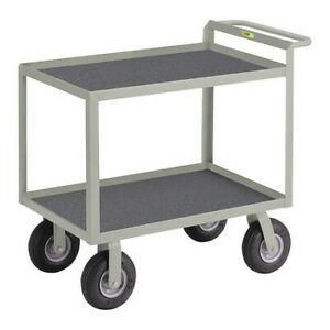 Little Giant Gl24369pm Steel Vinyl shelf Utility Cart 1200 Lb Capacity