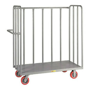 Little Giant Ot24486py 12 Ga Steel deck Utility Cart 3600 Lb Capacity 56