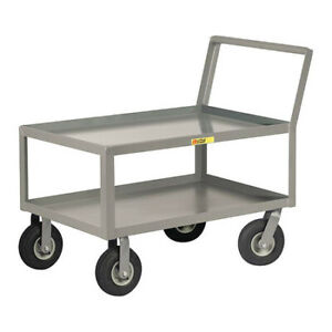 Little Giant Lkl24369p 12 Ga Steel Utility Cart 1200 Lb Capacity