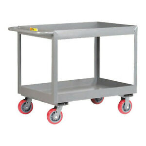 Little Giant Ds2436x36py 12 Ga Steel Utility Cart 3600 Lb Capacity 42 l X