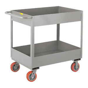 Little Giant Ds2436x66py 12 Ga Steel Utility Cart 3600 Lb Capacity 42 l X