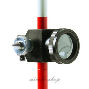 Mini Prism Without 3 three Poles For Total Station Brand New 0mm Prism Offset