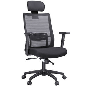 Ergonomic Mesh Office Chair High Back Executive Office Chair Computer Desk Chair