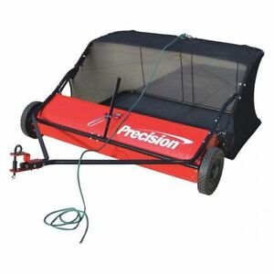 Lawn Sweeper 48 Width nylon Hopper Precision Products Lsp48