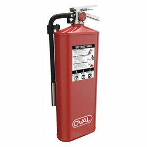 Oval 10habc Fire Extinguisher 4a 80b c Dry Chemical 10 Lb Abc