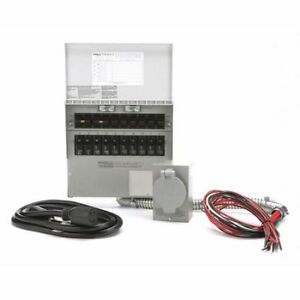 Manual Transfer Switch 125 250v 30a Reliance 310crk