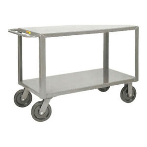 Little Giant Gh 3048 8phk 12 Ga Steel Utility Cart 5000 Lb Capacity 54 l X