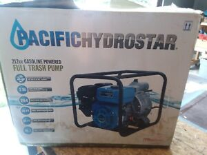 Pacifichydrostar 3 Inch Trash Pump With 3 Hoses And Quick Connectors