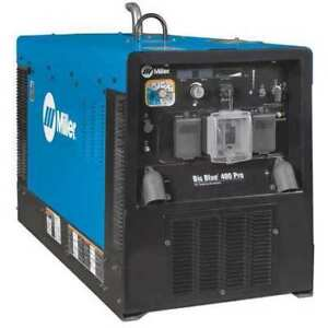 Miller Electric 907732 Engine Driven Welder kubota 20 2 Hp