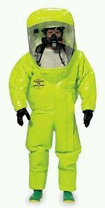 Dupont Tk554tlyxl000100 Encapsulated Suit Xl Front Tychem Tk New In Box