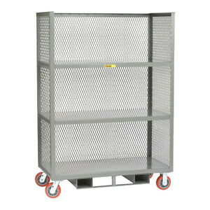 Cart bulk Storage 24 X 48 forkliftable Little Giant T324486pyfp60