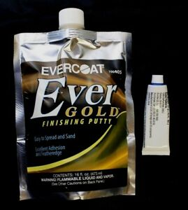 Evercoat 405 Ever Gold Finishing Putty 100405 Pouch 16 Fl Oz