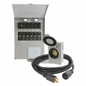 Manual Transfer Switch 125 250v 30a Reliance 306crk