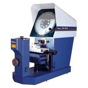 Mitutoyo 172 810 10a Horizontal Optical Comparator 4 Travel