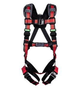 Msa Evotech Vest style Harness D ring Rfid Enabled Xl 10167885