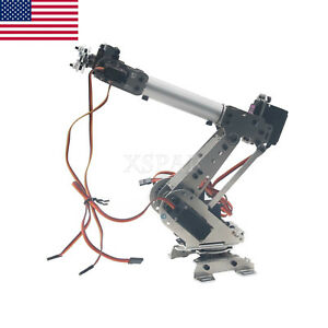 S6 6dof Industrial Mechanical Robot Arm Manipulator Diy Vehicle Mounted Us Sell