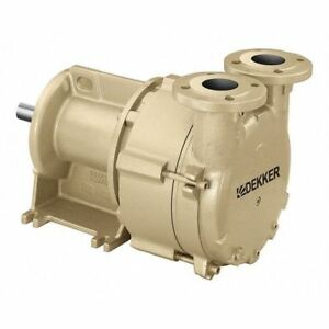 Liquid Ring Vacuum Pump 3 Hp 35 Cfm Dekker Vacuum Technologies Inc Dv0035d pa3