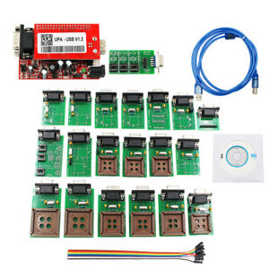 V1 3 New Upa Usb Programmer With Full Adaptors With Nec Function