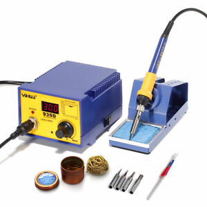 220v Yihua 939d Soldering Station Constant Temperature Soldering Iron iron Tip