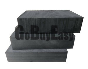 Bland Pure Graphite Block Electrode Rectangle Plate Blank Sheet 5x 100 100 10mm
