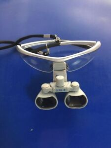 Cicada Dental Loupes Surgical Medical Binocular Optical 3 5x420mm Cv 290 Silver